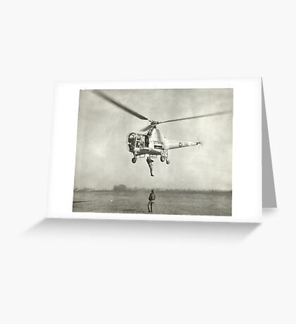 Sikorsky H-5D Dragonfly Greeting Card