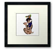 Christmas Fawnlock Framed Print