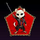 Punk Dormouse Emblem by Mary C