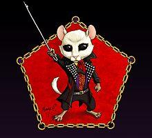 Punk Dormouse Emblem by Mary C