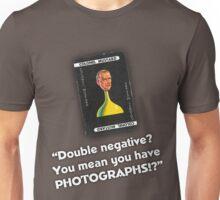 Clue - Colonel Mustard Double Negative Unisex T-Shirt