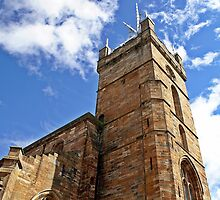St. Michael's Church at Linlithgow Palace by Escocia Photography