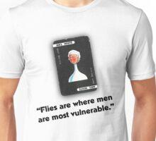 Clue - Mrs White Flies Unisex T-Shirt