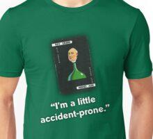 Clue - Reverend Green Accident-prone Unisex T-Shirt
