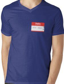 Hello Mr Parker Mens V-Neck T-Shirt