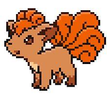 Pokemon - Vulpix Sprite by ffiorentini