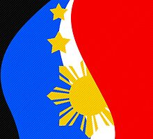Philippine Flag by Jerome Obille