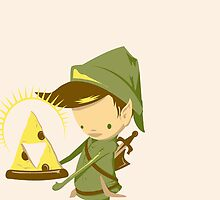 Link Triforce Pizza by Slowkinggaming