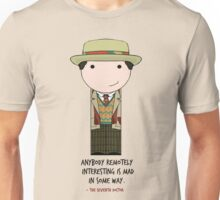 Anybody Remotely Interesting -- Doctor Who 7th Doctor Unisex T-Shirt