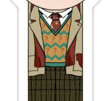 Anybody Remotely Interesting -- Doctor Who 7th Doctor Sticker