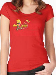 Boy wonder (Wonder Boy) Women's Fitted Scoop T-Shirt