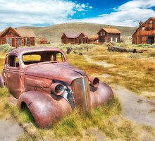 Historic Bodie Ghost Town by Jerome Obille