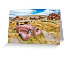 Historic Bodie Ghost Town Greeting Card
