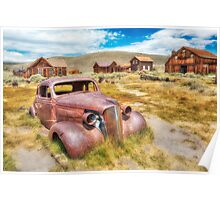 Historic Bodie Ghost Town Poster