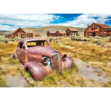 Historic Bodie Ghost Town Photographic Print