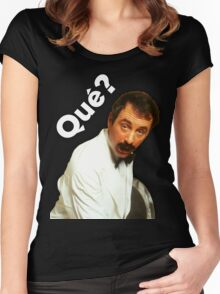 Manuel - Que? Women's Fitted Scoop T-Shirt