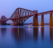 Firth of Forth rail bridge by Graeme  Ross