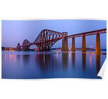 Firth of Forth rail bridge Poster