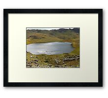 Snowdon Lake Framed Print