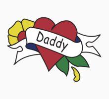 Daddy tattoo kids t-shirt Kids Clothes
