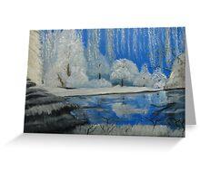 Winter Wonder Land Greeting Card
