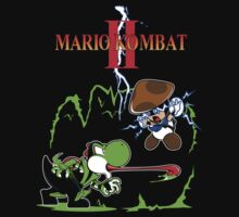 MARIO KOMBAT II by temptingtragedy
