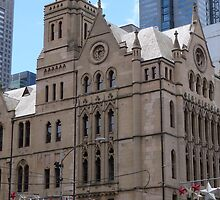 Classic Architecture & the New. City of Melbourne. Vic. by Rita Blom