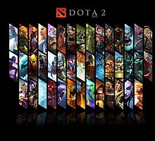 Dota 2 warriors  by ILoveLamps