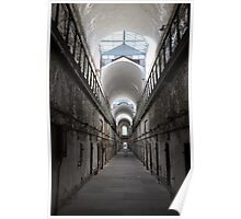 Solitary in the Cellblock - Beauty in Decay Poster