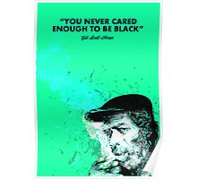 Destructured portrait - Gil Scott Heron Poster