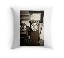 Cops are Listening Throw Pillow