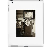 Cops are Listening iPad Case/Skin