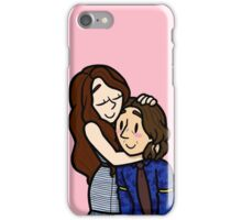 Once Upon A Time Rumbelle Hug iPhone Case/Skin