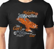 Malcolm and the Fireflies! Unisex T-Shirt