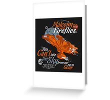 Malcolm and the Fireflies! Greeting Card