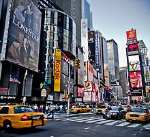 Times Square New York City by mykhalchevskyy