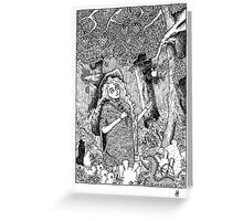 The Oblivion Meets The Giving Tree Greeting Card