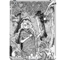 The Oblivion Meets The Giving Tree iPad Case/Skin