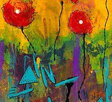 Poppies I by © Angela L Walker