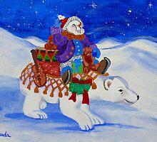 The Snowman's Caravan by SusanDuda