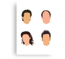 Seinfeld Minimalist Print - No Names Canvas Print