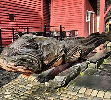 Norwegian Red (4) ----- The Fish by Larry Lingard-Davis