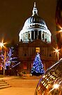 St Pauls Cathederal At Christmas - HDR by Colin J Williams Photography