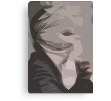 Faceless Expressions Canvas Print