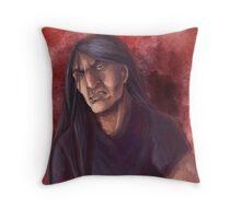 Nathan Watercolor Throw Pillow