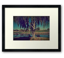 On a Lazy Afternoon Framed Print
