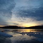 Joy - A Susquehanna Sunset by James Wheeler
