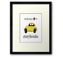 Welcome to Storybrooke Framed Print