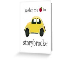 Welcome to Storybrooke Greeting Card