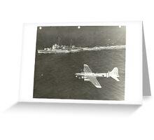 Boeing SB-17 Greeting Card